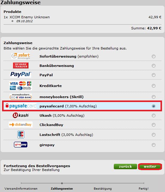 Paysafecard Online Bestellen