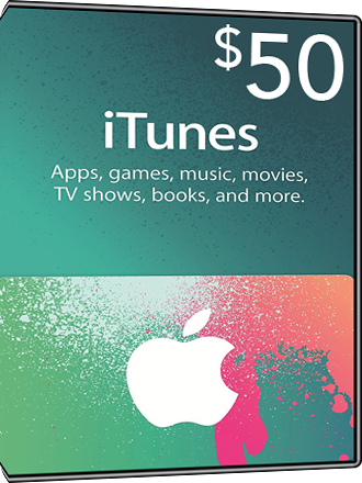 iTunes Card $50 Screenshot