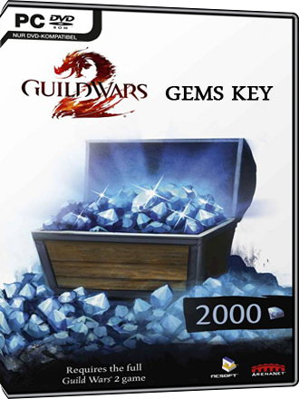 2000 Guild Wars 2 Gems Key Screenshot