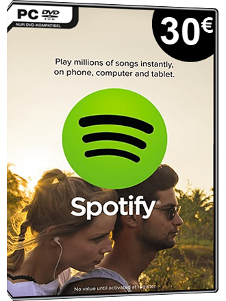 Spotify Gift Card 30 EUR [DE] Screenshot