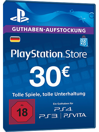 PSN Card 30 Euro [DE] - Playstation Network Guthaben Screenshot