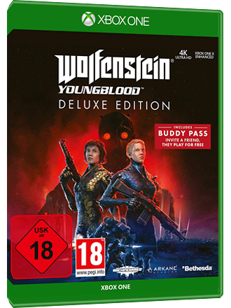Wolfenstein Youngblood - Deluxe Edition (Xbox One Download Code) Screenshot