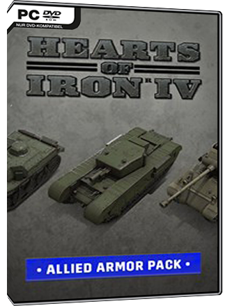 Hearts of Iron IV - Allied Armor Pack (DLC) Screenshot