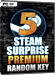 Steam Surprise Premium - Random Steam Key - 5er Pack