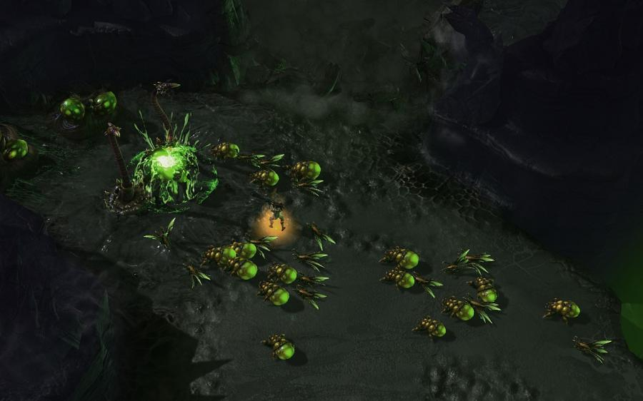 Starcraft 2: Heart of the Swarm (EU) Screenshot 5