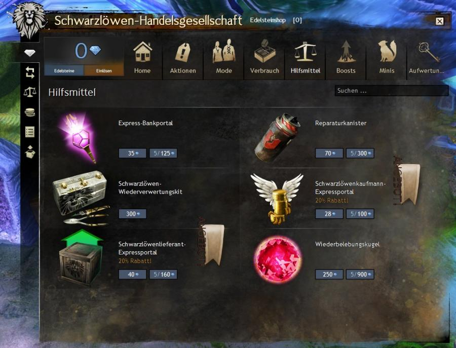 2000 Guild Wars 2 Gems Key Screenshot 4