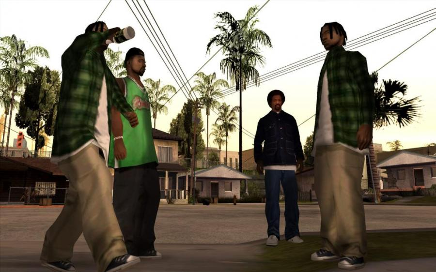 GTA San Andreas Screenshot 3