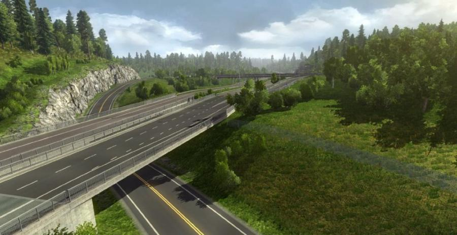 Euro Truck Simulator 2 - Scandinavia (Addon) Screenshot 6