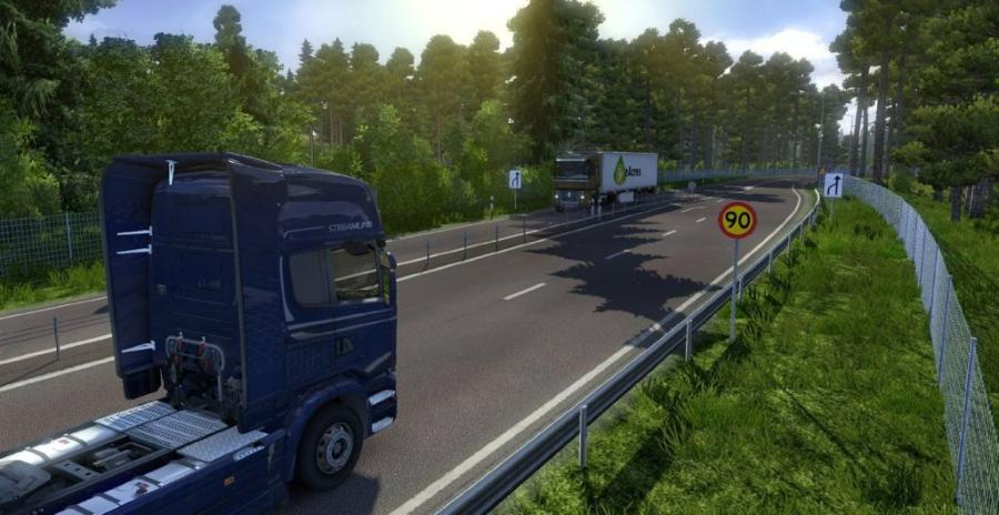 Euro Truck Simulator 2 - Scandinavia (Addon) Screenshot 1