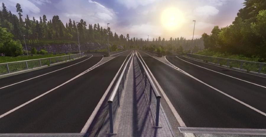 Euro Truck Simulator 2 - Scandinavia (Addon) Screenshot 4