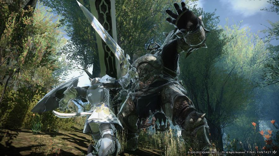 Final Fantasy XIV A Realm Reborn + Heavensward Addon Screenshot 1