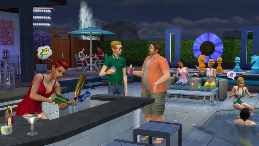 Die Sims 4 - Wellness-Tag + Luxus-Party-Accessoires + Sonnenterrassen Bundle Screenshot 8