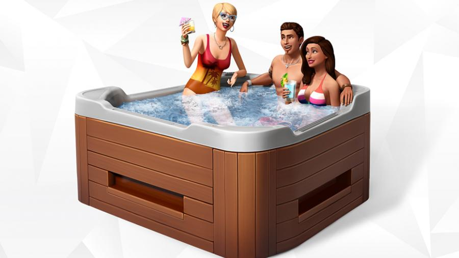 Die Sims 4 - Wellness-Tag + Luxus-Party-Accessoires + Sonnenterrassen Bundle Screenshot 9