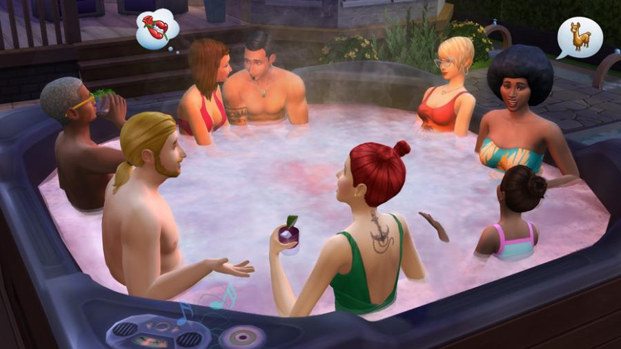 Die Sims 4 - Wellness-Tag + Luxus-Party-Accessoires + Sonnenterrassen Bundle Screenshot 7