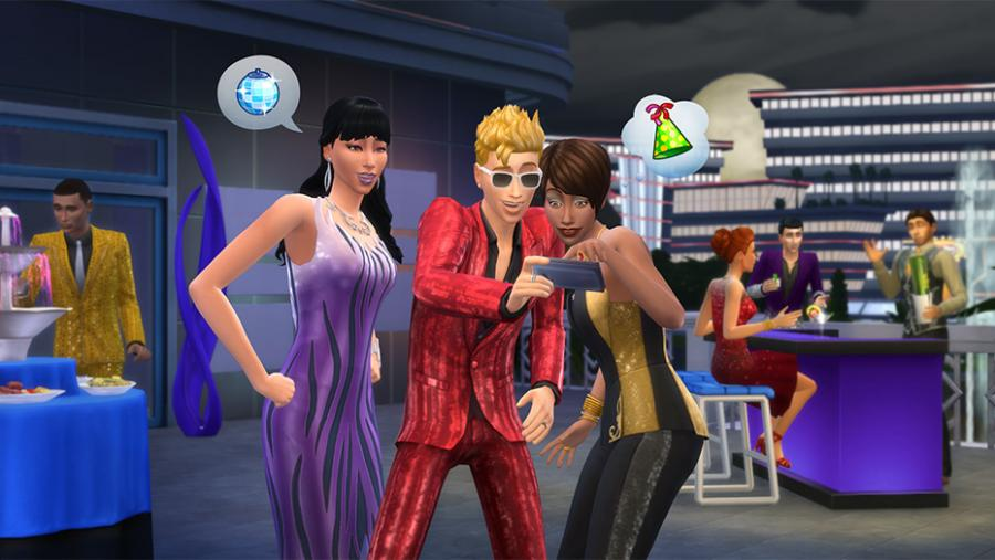 Die Sims 4 - Wellness-Tag + Luxus-Party-Accessoires + Sonnenterrassen Bundle Screenshot 5