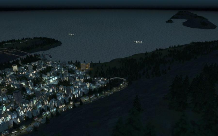 Cities Skylines - After Dark (Addon) Screenshot 6