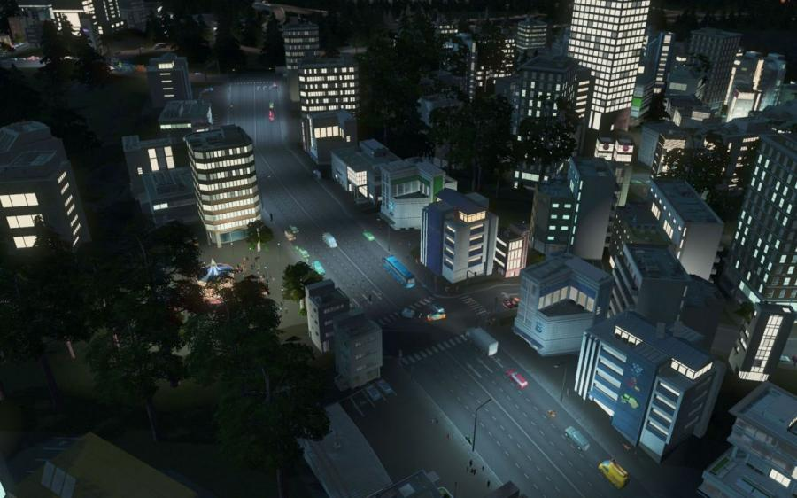 Cities Skylines - After Dark (Addon) Screenshot 3