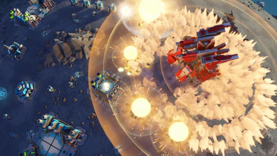 Planetary Annihilation TITANS Screenshot 2