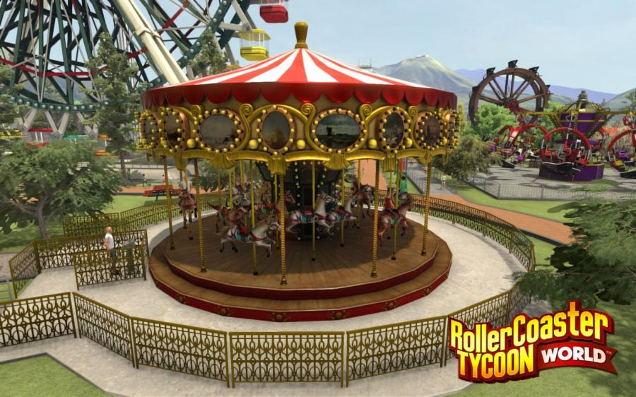 RollerCoaster Tycoon World - Deluxe Edition Screenshot 2