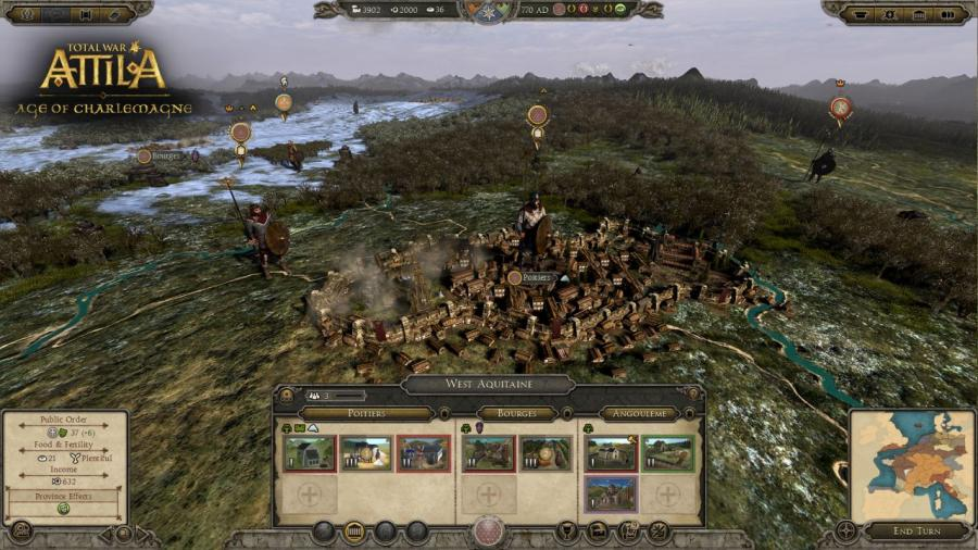 Total War Attila - Age of Charlemagne DLC Screenshot 5