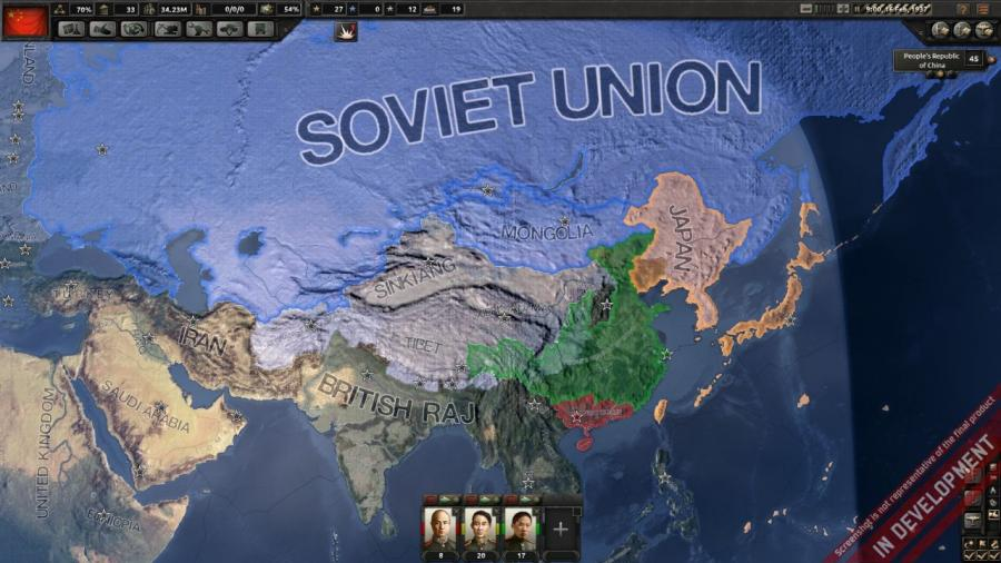 Hearts of Iron IV - Cadet Edition (DE Version) Screenshot 8