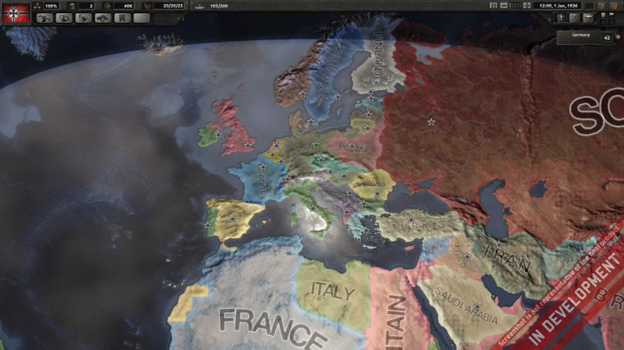Hearts of Iron IV - Cadet Edition (DE Version) Screenshot 1