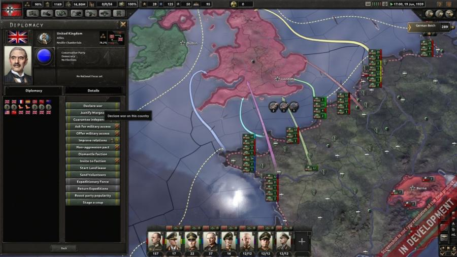 Hearts of Iron IV - Cadet Edition (DE Version) Screenshot 2