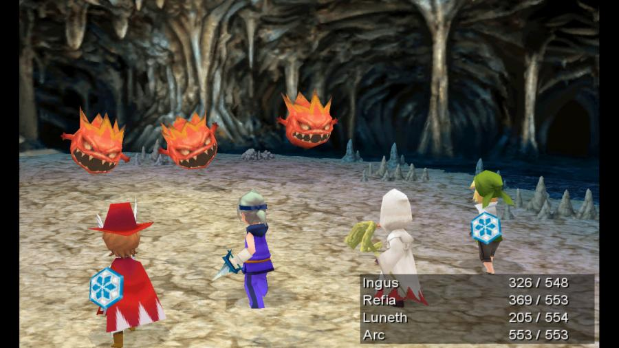 Final Fantasy III / Final Fantasy IV - Double Pack Screenshot 3