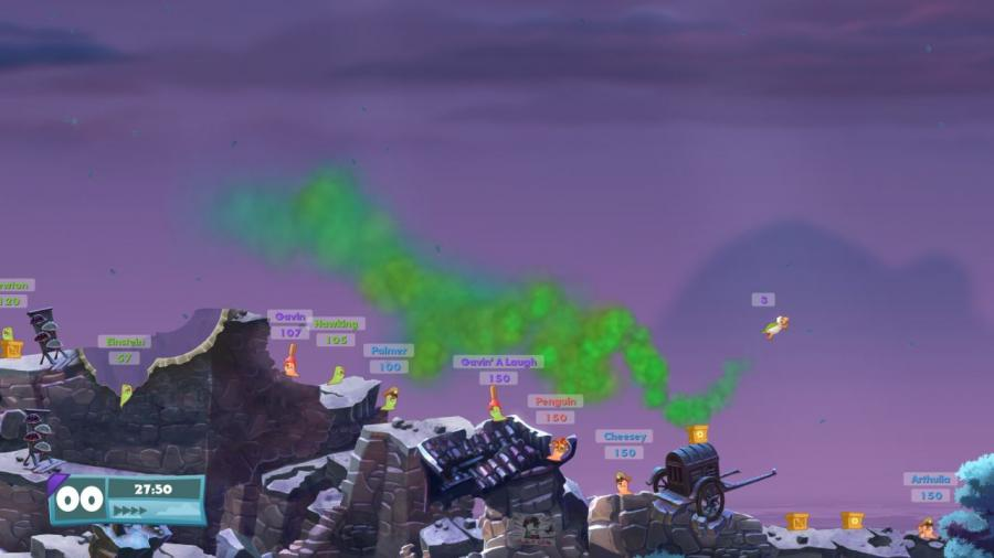Worms W.M.D Screenshot 5
