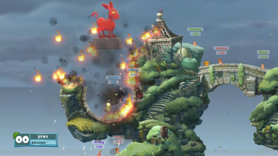 Worms W.M.D Screenshot 4
