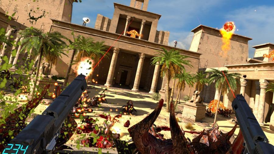 Serious Sam VR - The Last Hope (Steam Geschenk Key) Screenshot 1