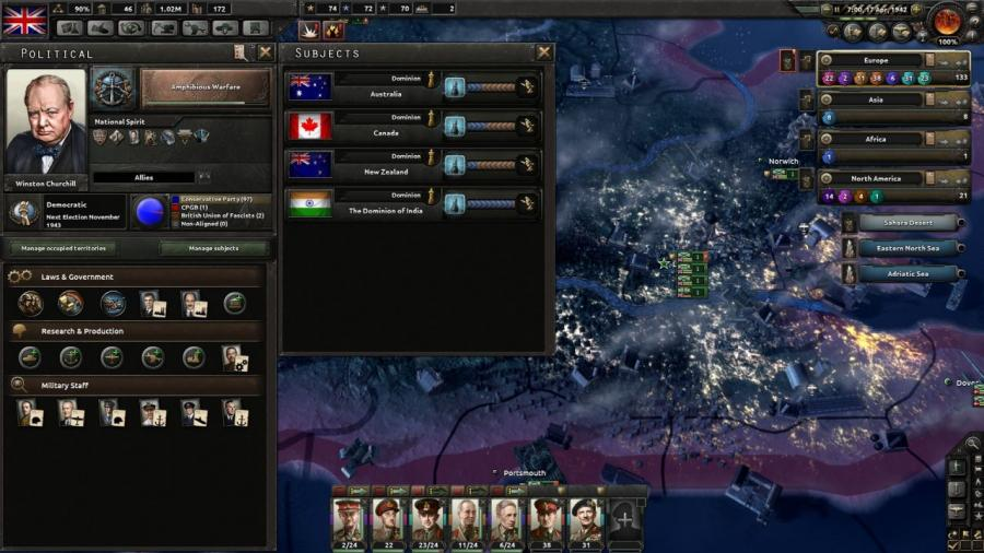 Hearts of Iron IV - Together for Victory (Addon) Screenshot 1