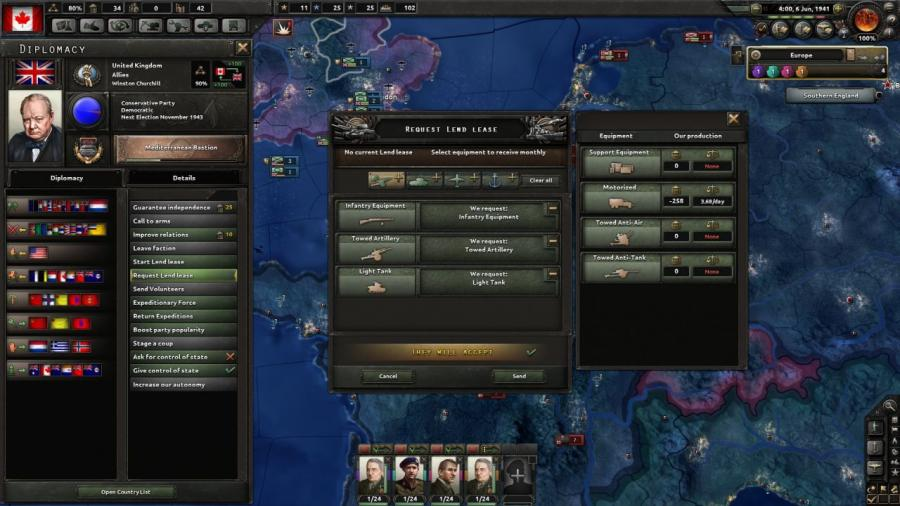 Hearts of Iron IV - Together for Victory (Addon) Screenshot 3