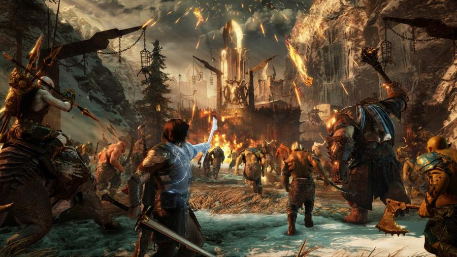Mittelerde - Schatten des Krieges (Middle-Earth Shadow of War) Screenshot 2