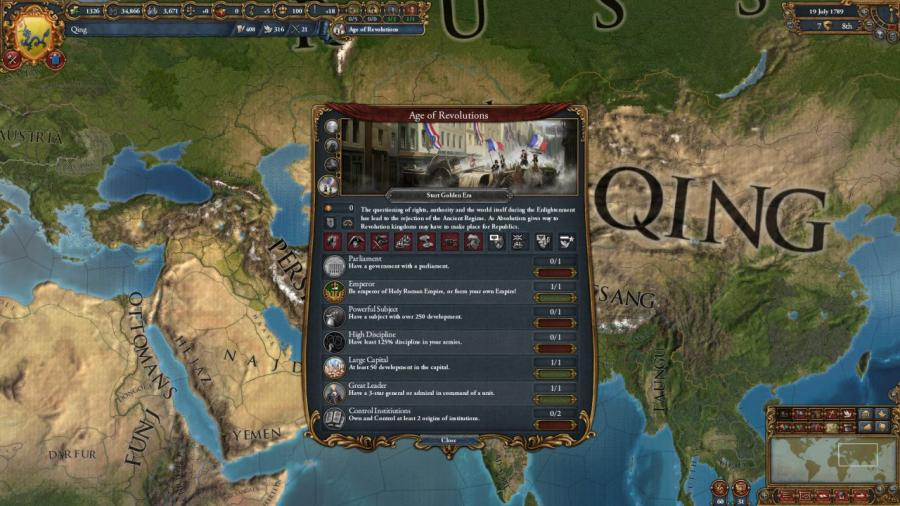 Europa Universalis IV - Mandate of Heaven (Addon) Screenshot 7