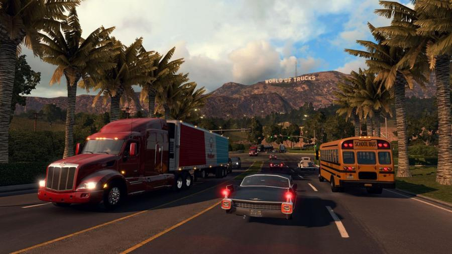 American Truck Simulator - Gold Edition Screenshot 1