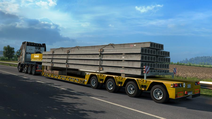 Euro Truck Simulator 2 - Heavy Cargo Pack (DLC) Screenshot 6