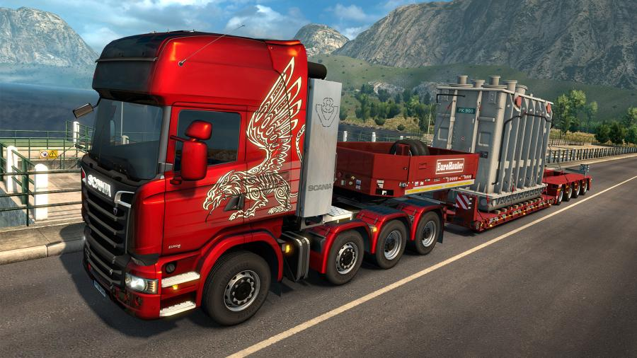 Euro Truck Simulator 2 - Heavy Cargo Pack (DLC) Screenshot 3