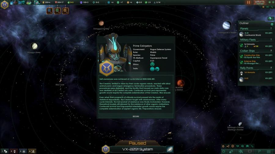 Stellaris - Synthetic Dawn Story Pack (DLC) Screenshot 7
