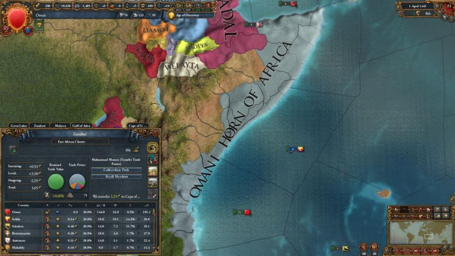 Europa Universalis IV - Cradle of Civilization (DLC) Screenshot 4