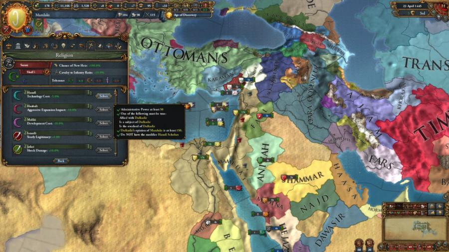 Europa Universalis IV - Cradle of Civilization (DLC) Screenshot 2