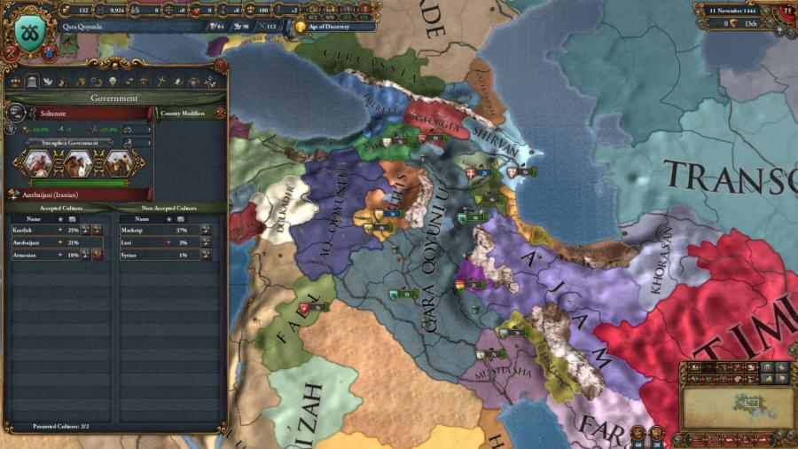 Europa Universalis IV - Cradle of Civilization (DLC) Screenshot 1