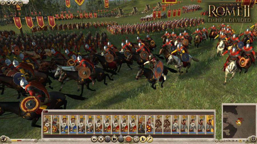 Total War Rome II - Empire Divided (DLC) Screenshot 4