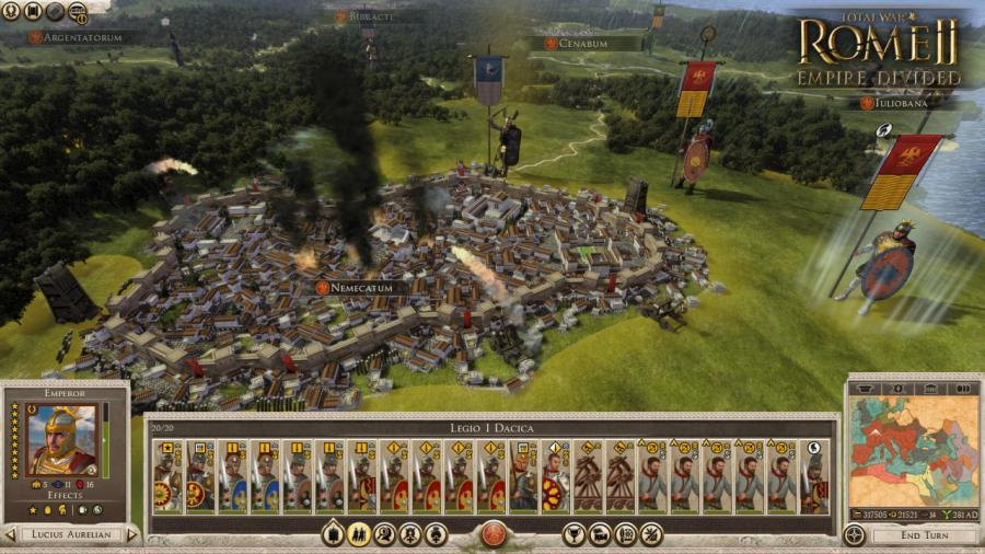 Total War Rome II - Empire Divided (DLC) Screenshot 5