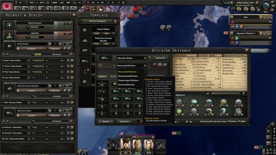 Hearts of Iron IV - Waking the Tiger (DLC) Screenshot 2