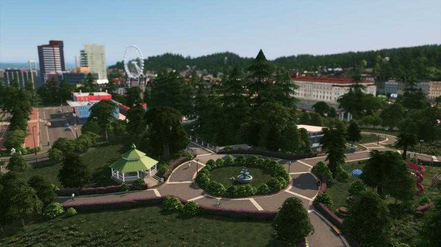 Cities Skylines - Parklife (DLC) Screenshot 2