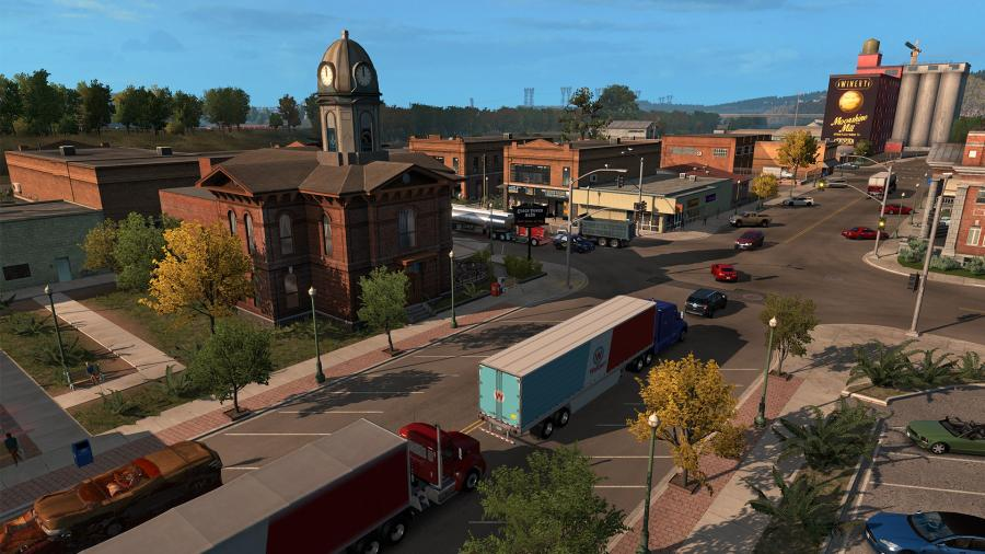 American Truck Simulator - Oregon (DLC) - EU Key Screenshot 5