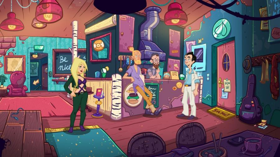 Leisure Suit Larry - Wet Dreams Don't Dry Screenshot 5