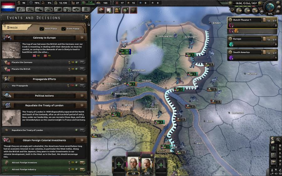 Hearts of Iron IV - Man the Guns (DLC) Screenshot 9