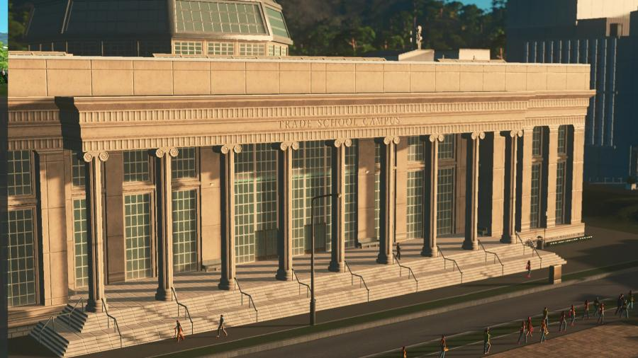 Cities Skylines - Campus (DLC) Screenshot 3